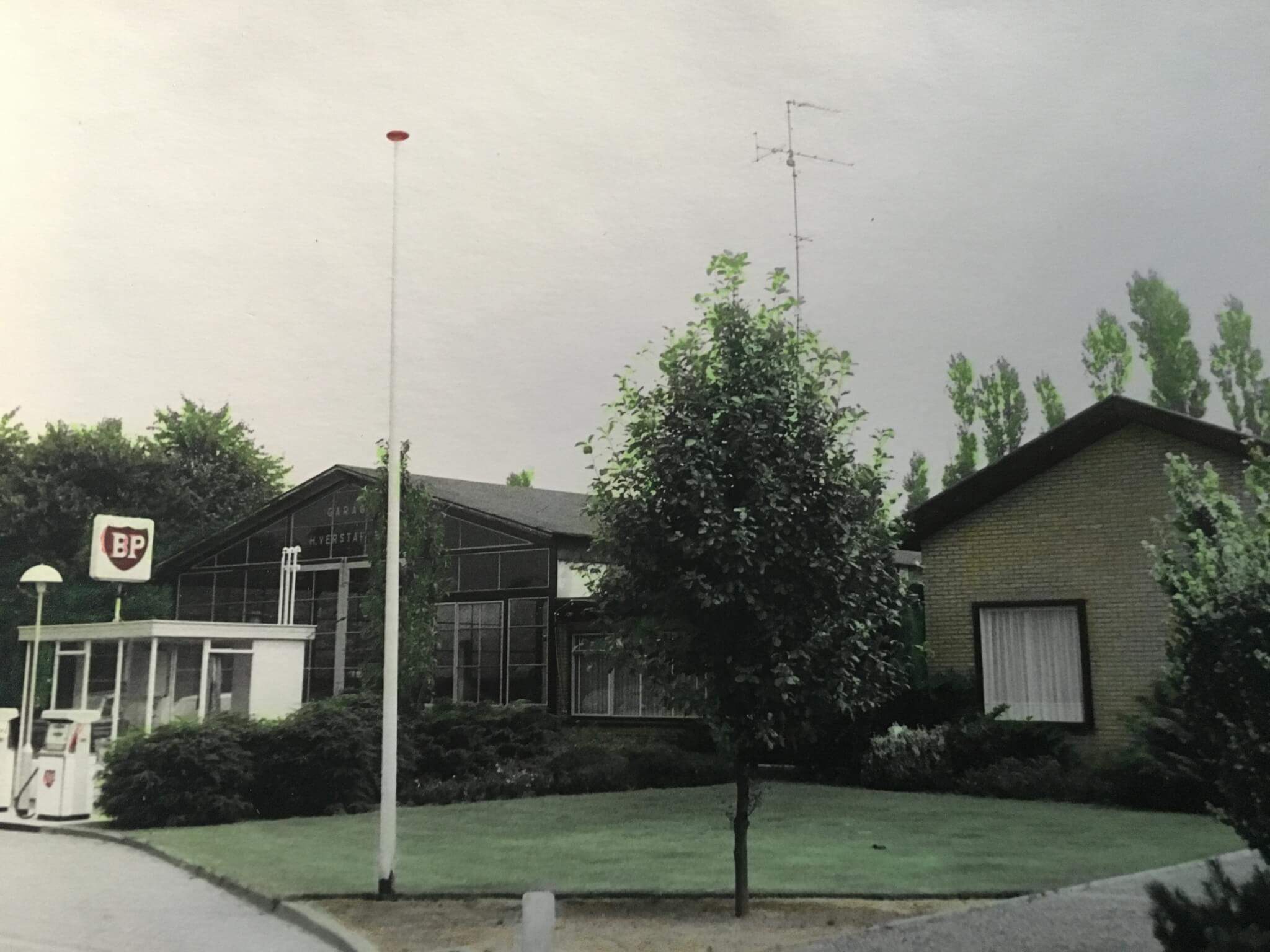 Garage Verstappen in Someren in de jaren 80